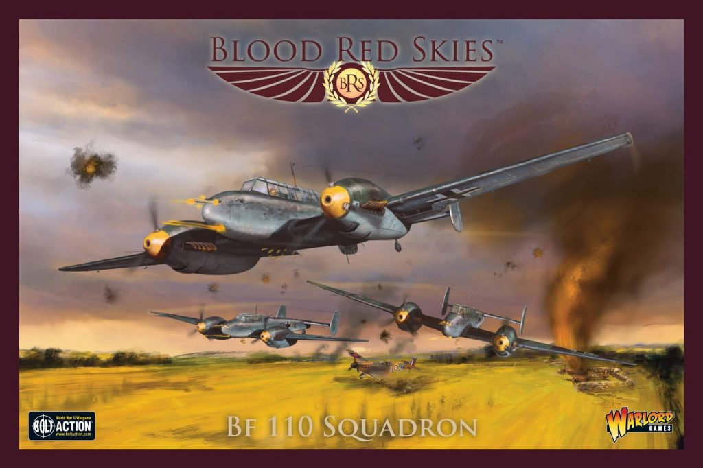 BF 110 Squadron - Blood Red Skies