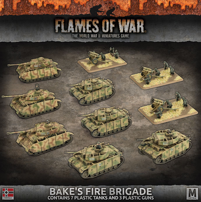 Bake's Fire Brigade - Flames Of War