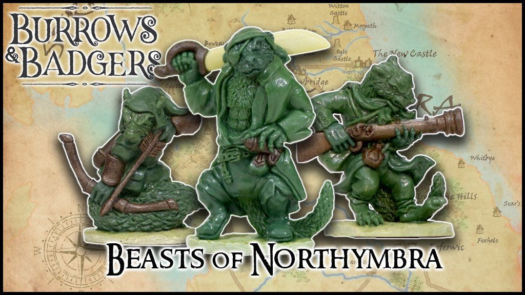 Beasts Of Northymbra - Burrows & Badgers
