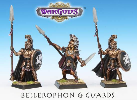 Bellerophon & Guards - Crocodile Games