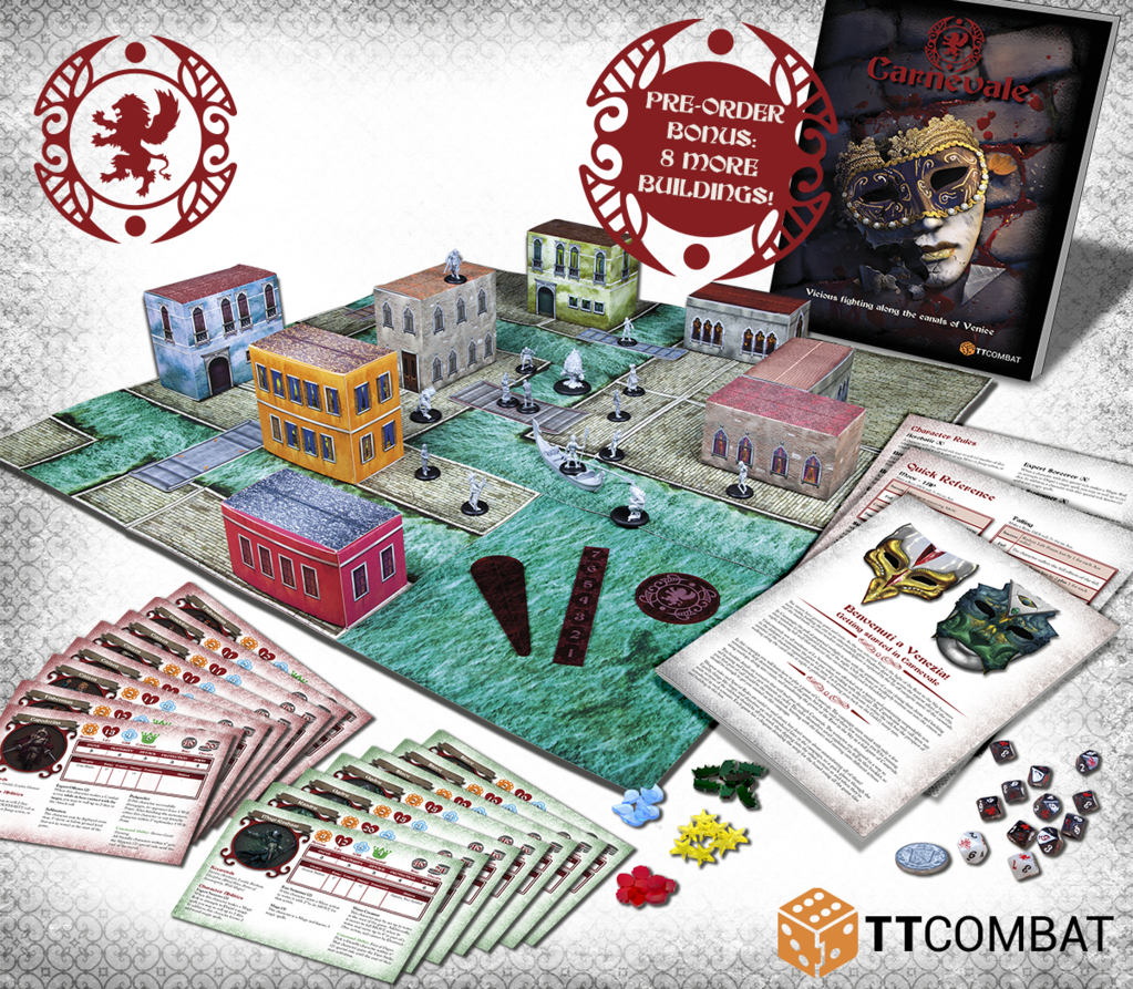Carnevale Two Player Starter Set - TTCombat