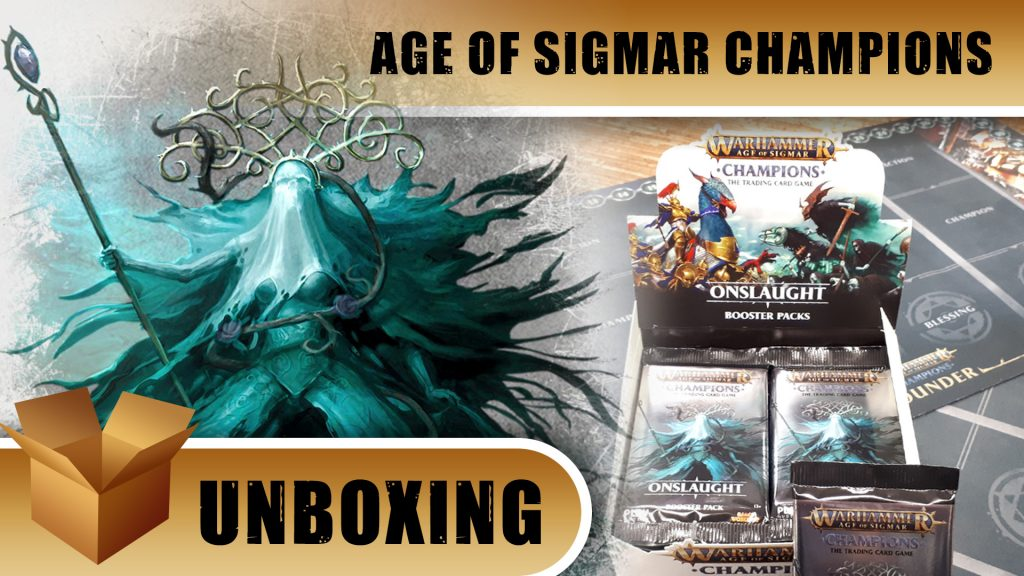 Warhammer Champions Unboxing: Onslaught Booster Box
