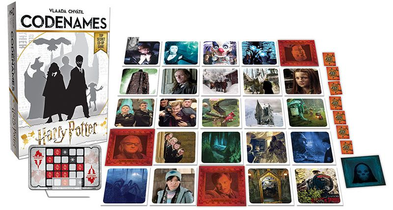 Codenames Harry Potter (Components) - USAopoly