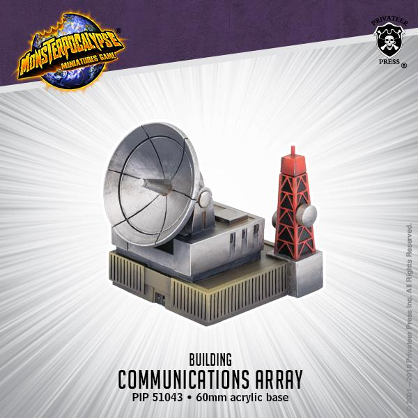 Communications Array - Monsterpocalypse