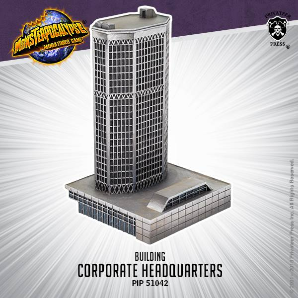 Corporate Headquarters - Monsterpocalypse