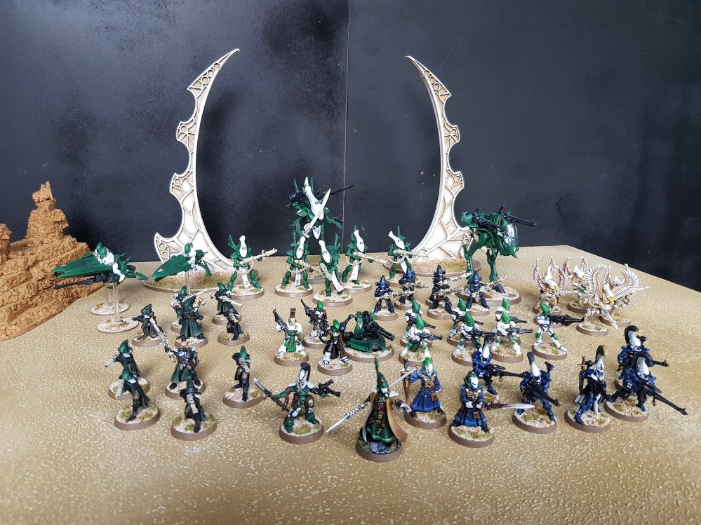 Craftworld Eldar #0 by firelock22