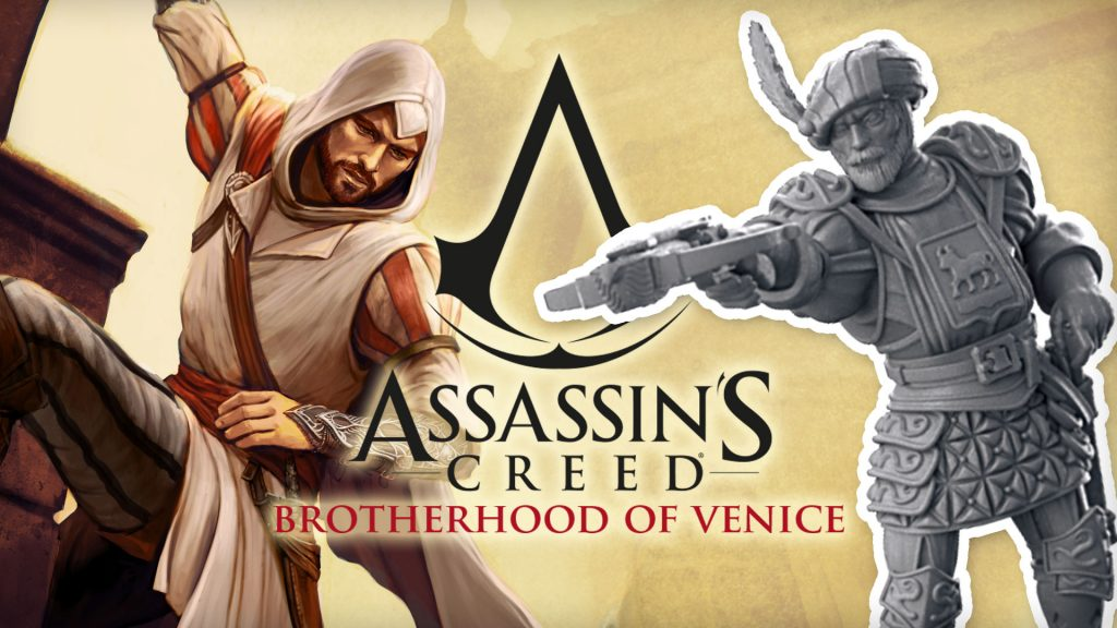 The Miniatures of Assassin's Creed: Brotherhood of Venice