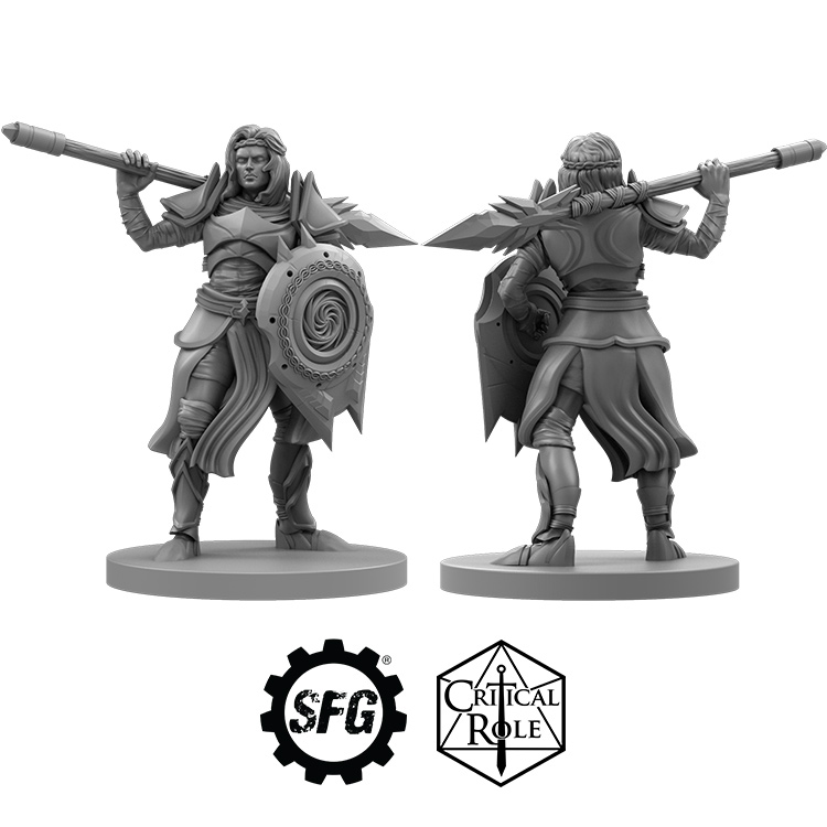 Critical Role Kashaw - Steamforged Games