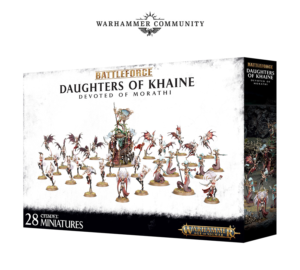 Daughters Of Khaine - Age Of Sigmar