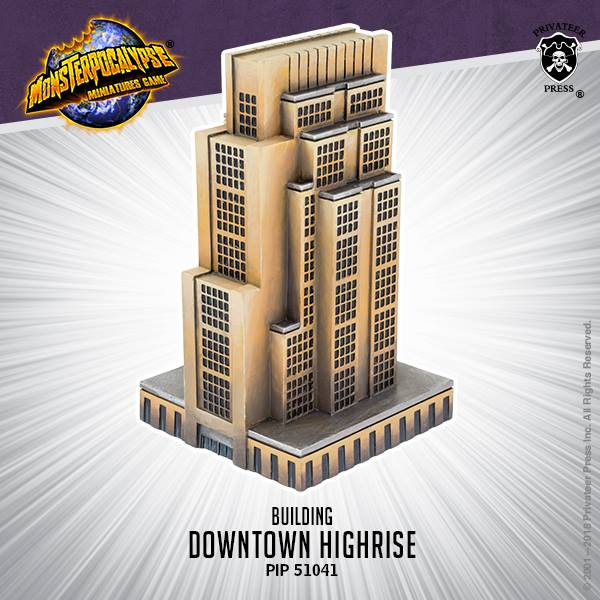 Downtown Highrise - Monsterpocalypse
