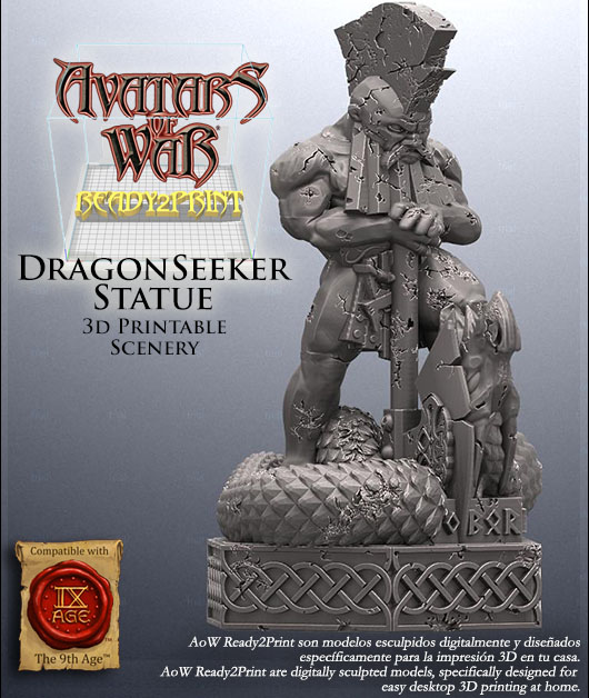 Dragonseeker Statue - Avatars Of War