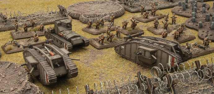 Flames Of War Great War Miniatures - Battlefront
