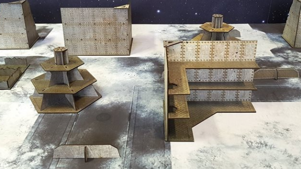 Gamemat.Eu's City Of Steel Terrain Rises Up For Pre-Order