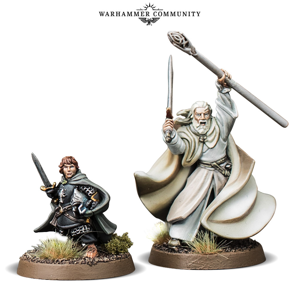 Gandalf & Pippin On Foot - Games Workshop