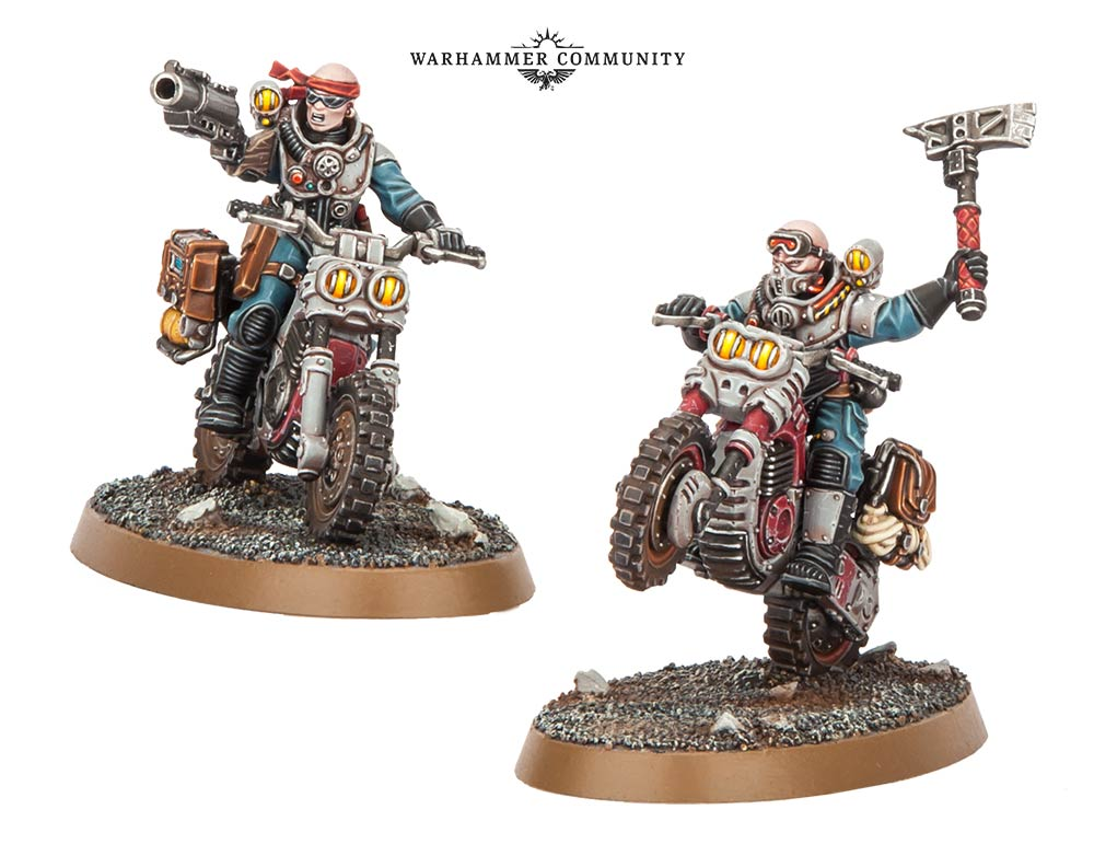 Genestealer Cultist Biker - Games Workshop