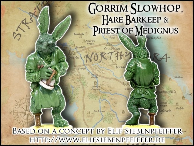 Gorrim Slowhop - Burrows & Badgers