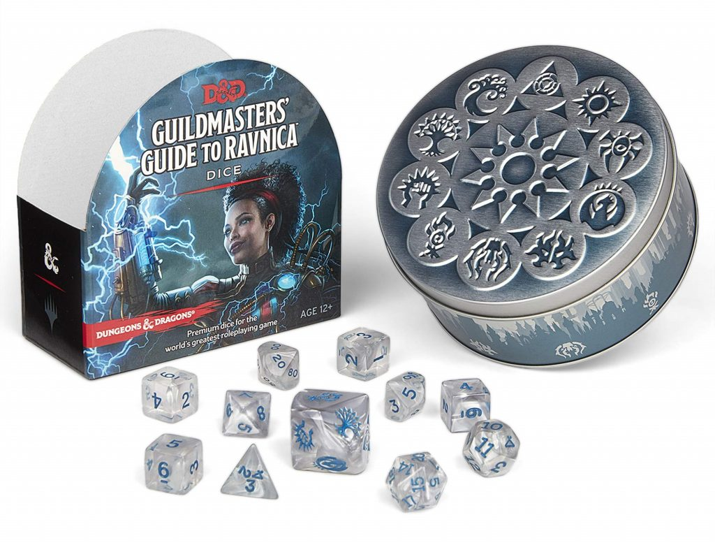 Guild Of Ravnica Dice - D&D Magic