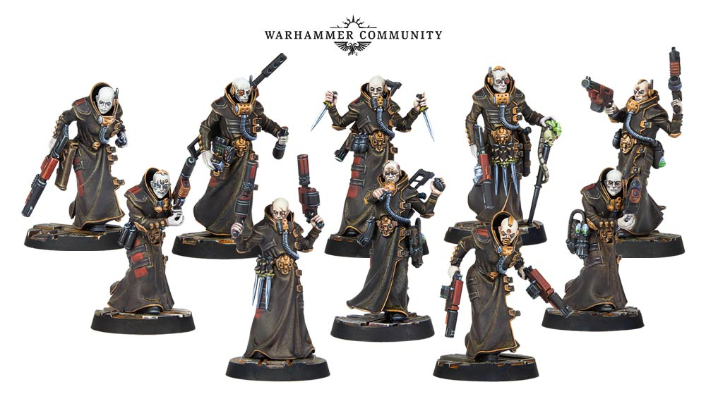 House Delaque Models - Games Workshop