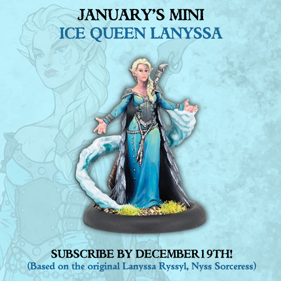 Ice Queen Lanyssa - MiniCrate