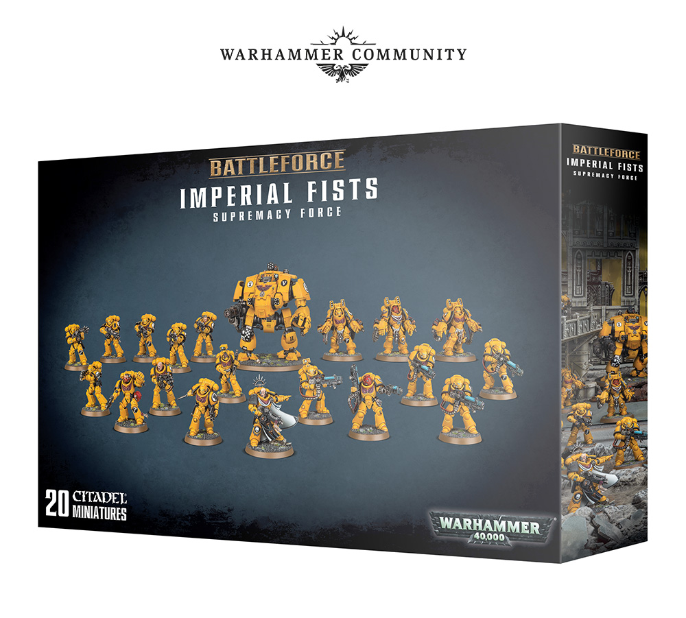Imperial Fists - Warhammer 40K