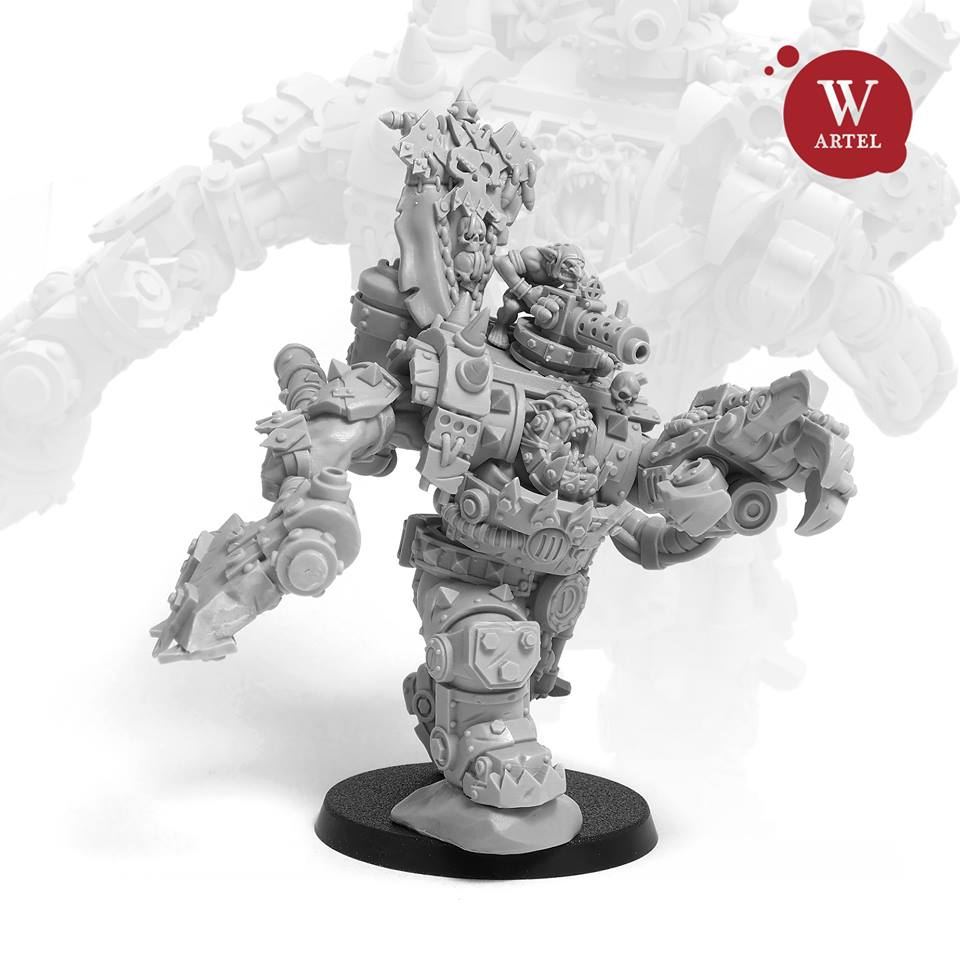 Iron Boss #1 - Artel W Miniatures