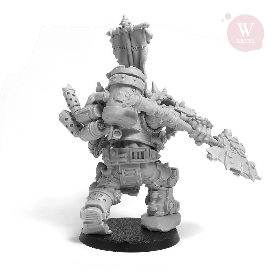 Iron Boss #2 - Artel W Miniatures