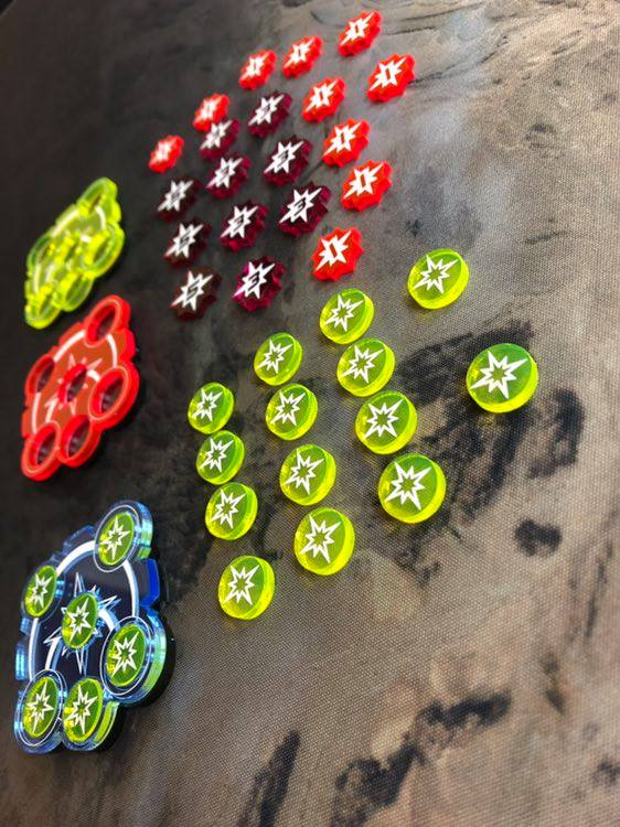 KeyForge Tokens - Art Of War Studios