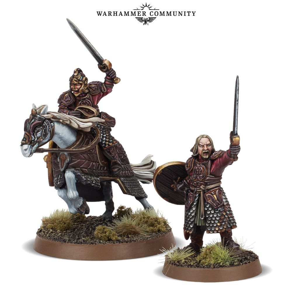 King Theoden Foot & Mounted - Games Workshop