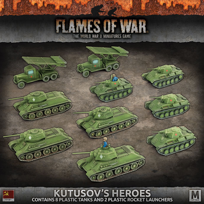 Kutusov's Heroes - Flames Of War