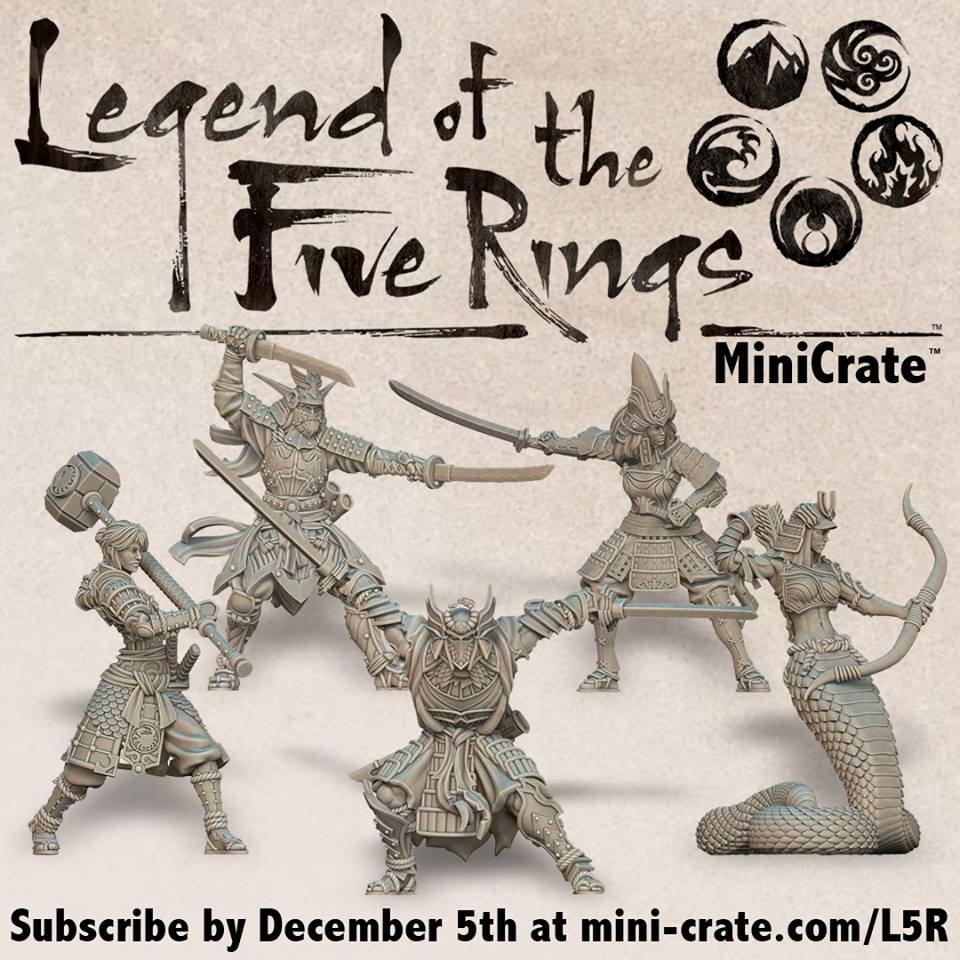 Legend Of The Five Rings Collection - MiniCrate