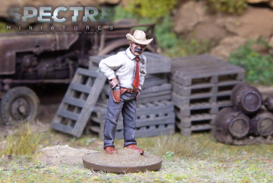 Limited Edition Miniature - Spectre Miniatures