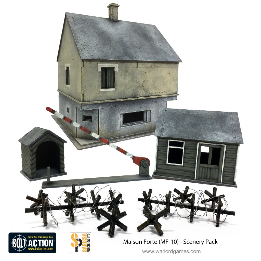 Maison Forte Scenery Pack - Warlord Games