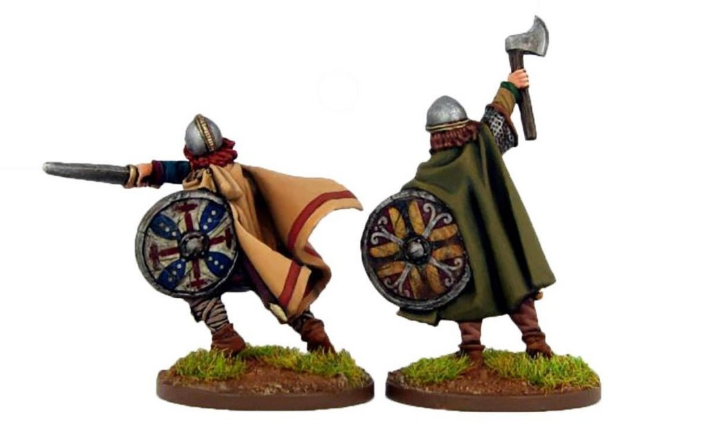 Morcar & Edwin Saxon Earls (Alt) - Footsore Miniatures