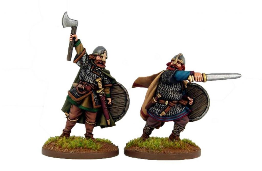 Morcar & Edwin Saxon Earls - Footsore Miniatures