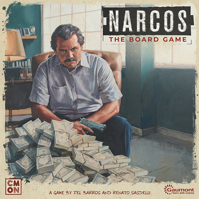 Narcos The Board Game - CMON