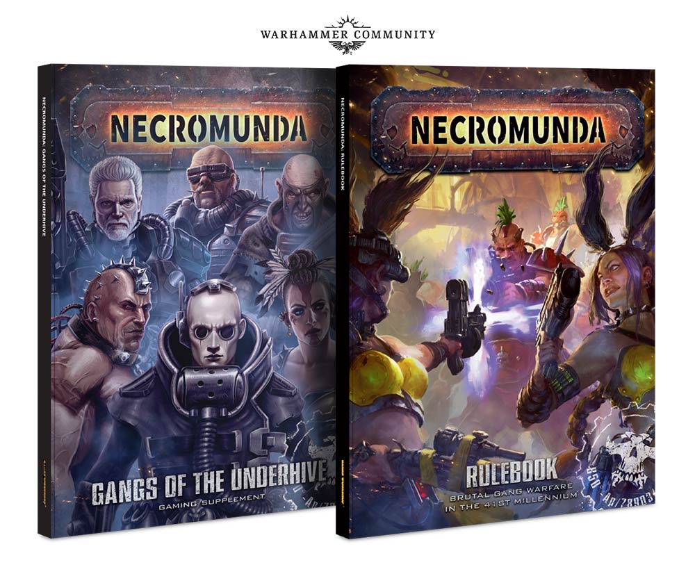 Necromunda Expansion Books - Games Workshop