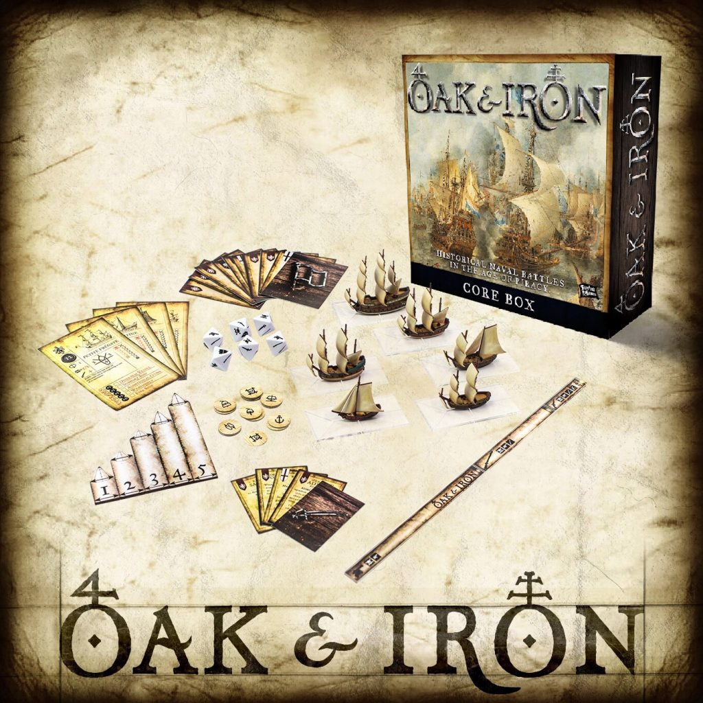 Oak & Iron Box - Firelock Games