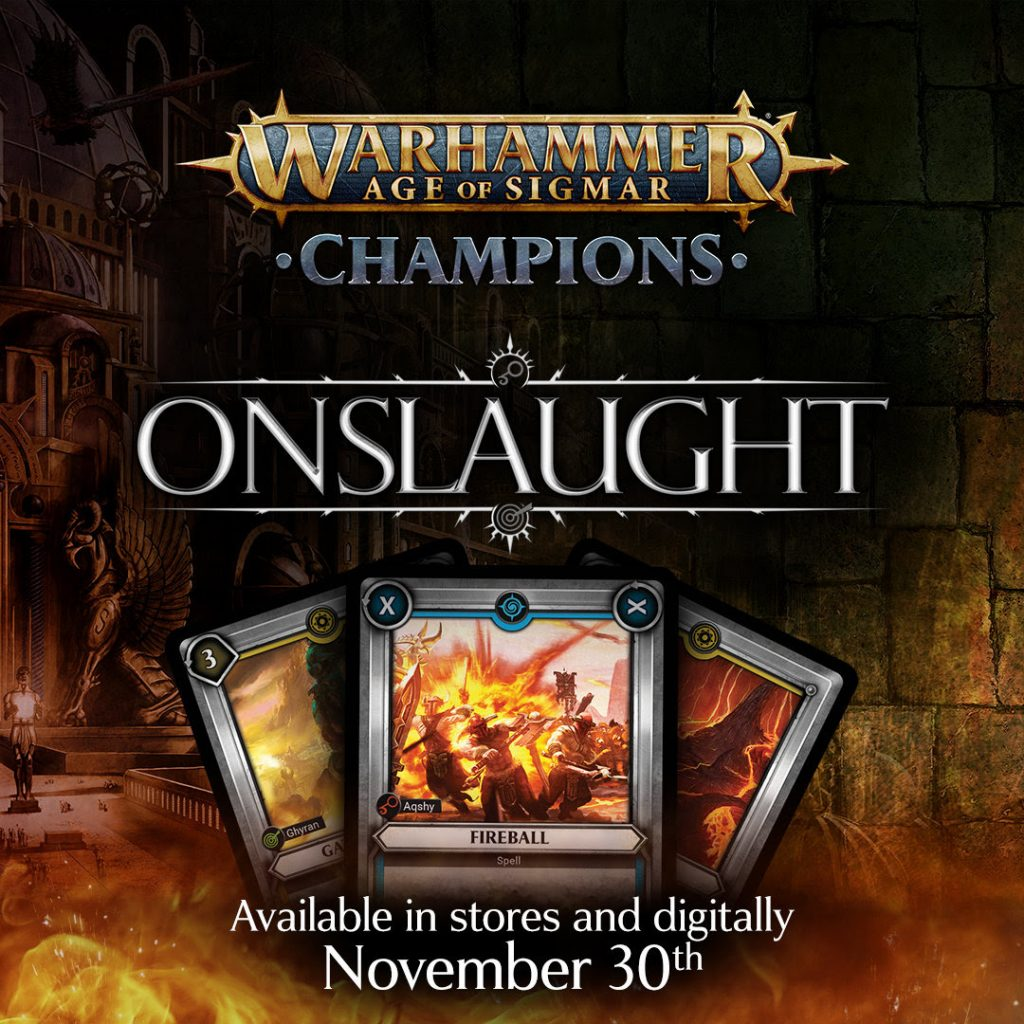Onslaught Release Date