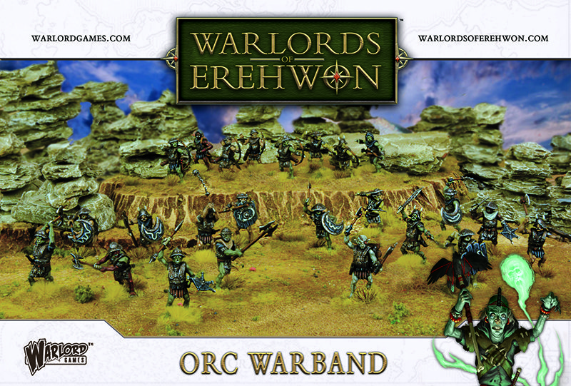 Orc Warband - Warlords Of Erehwon