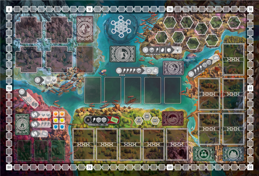 Reavers Of Midgard (Board) - Grey Fox Games