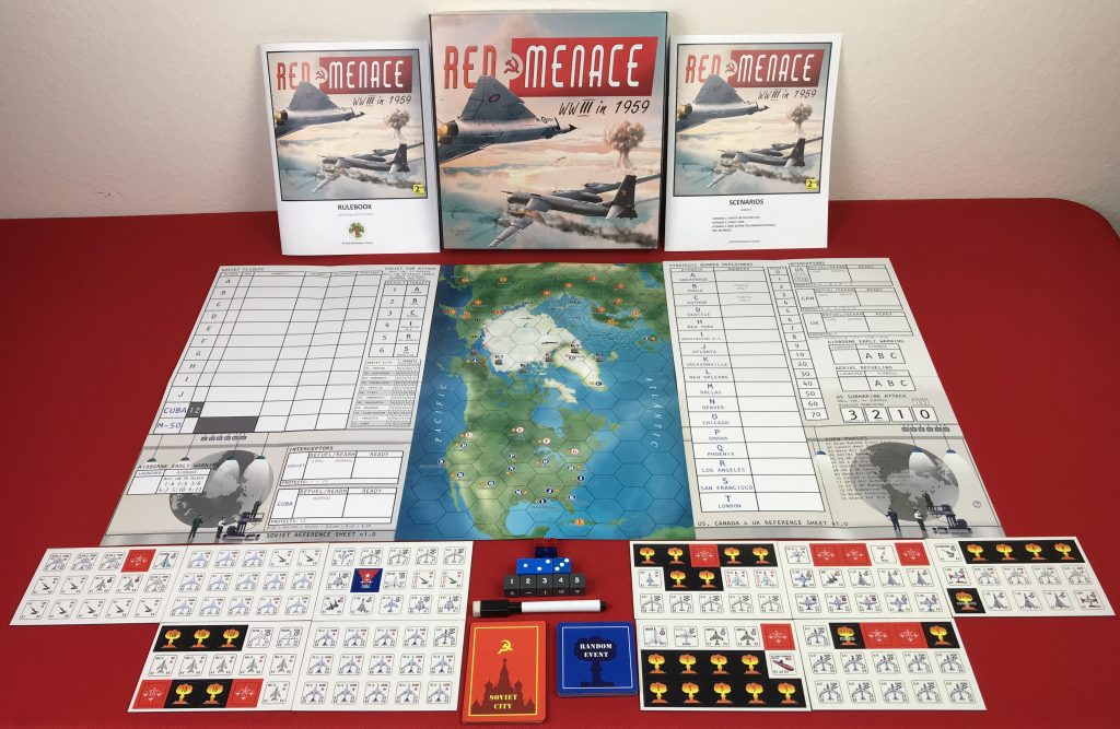 Red Menace 2nd Edition Contents - Battlespace Games