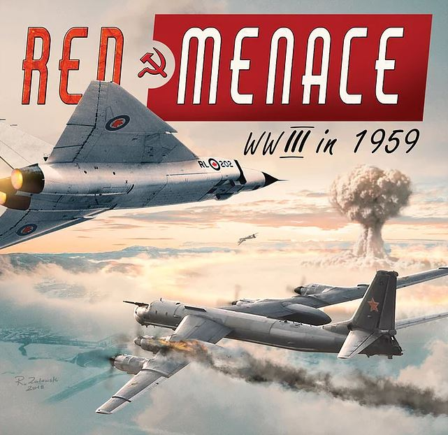 Red Menace 2nd Edition Cover - Battlespace Games