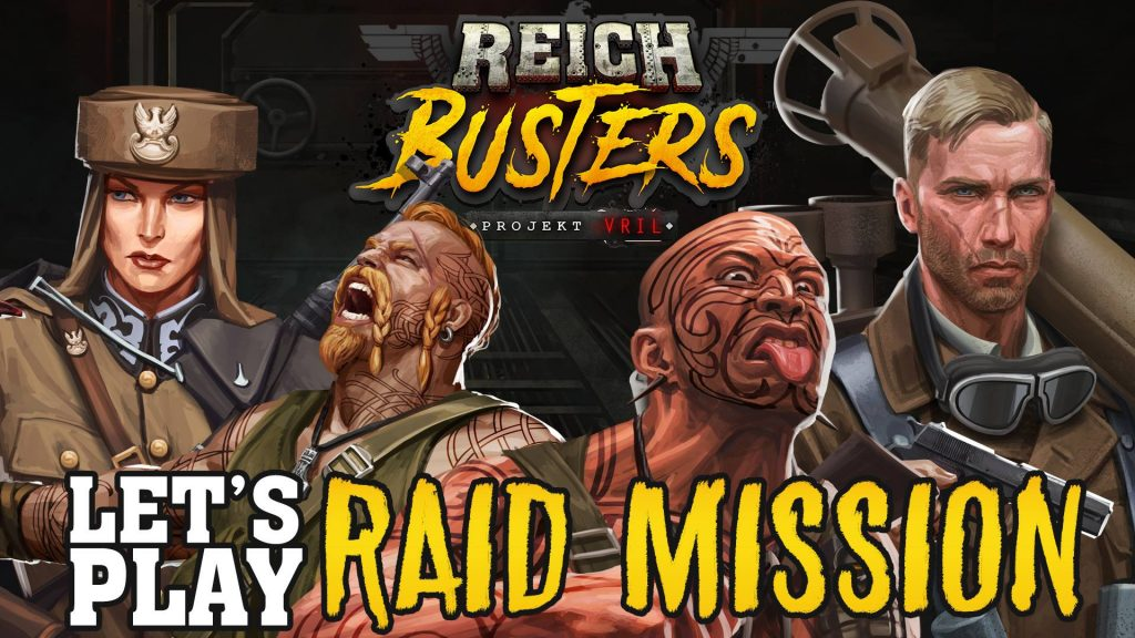 Reichbusters Lets Play Image - Mythic Games