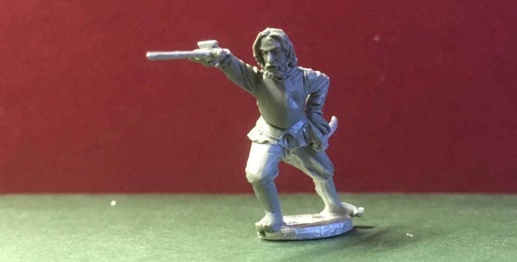 Rodriguez The Swordsman - Antediluvian Miniatures