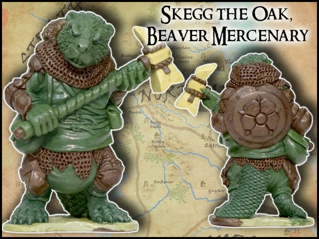 Skegg The Oat - Burrows & Badgers