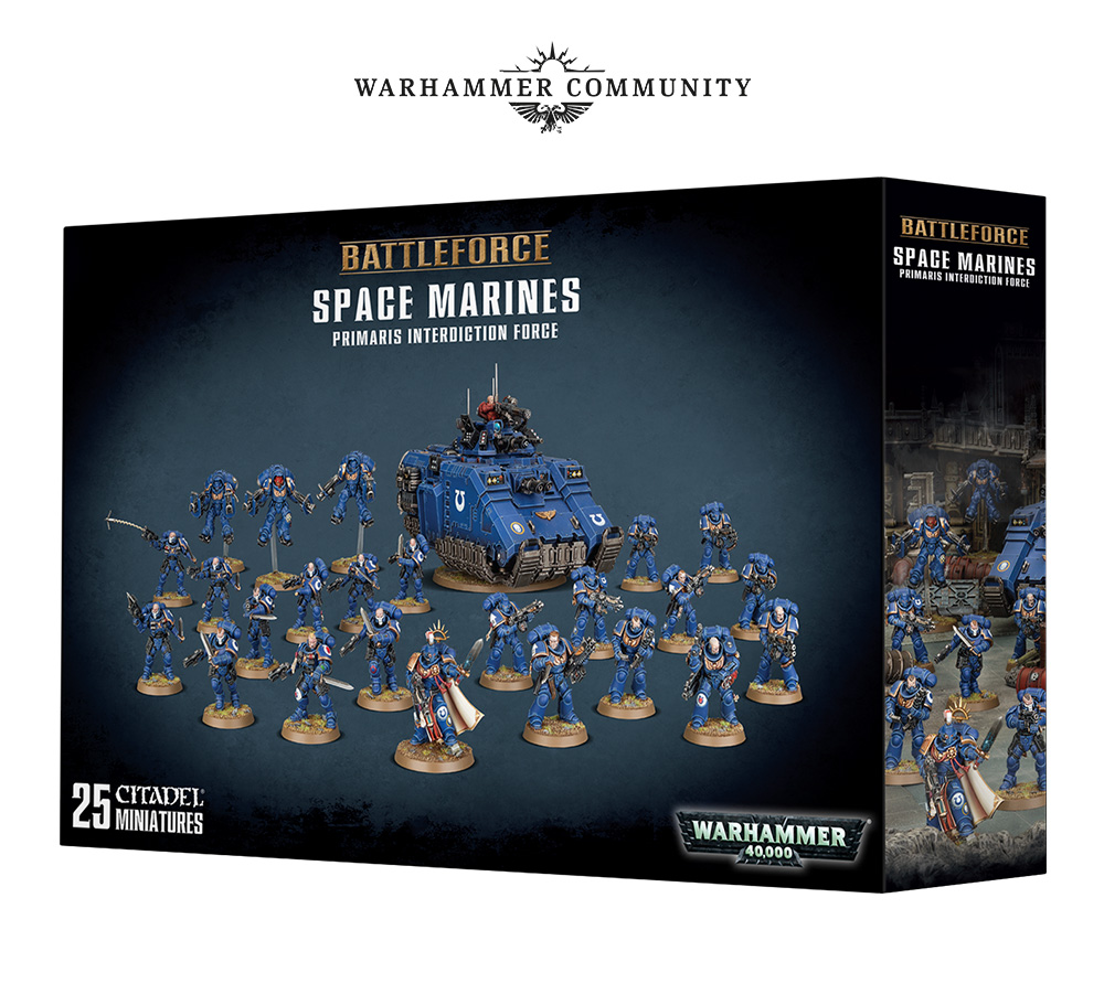 Space Marines - Warhammer 40K