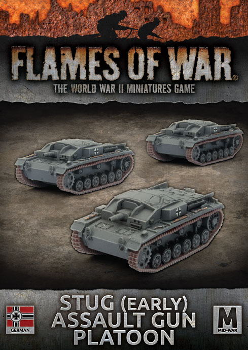 StuG (Early) Assault Gun Platoon - Flames Of War