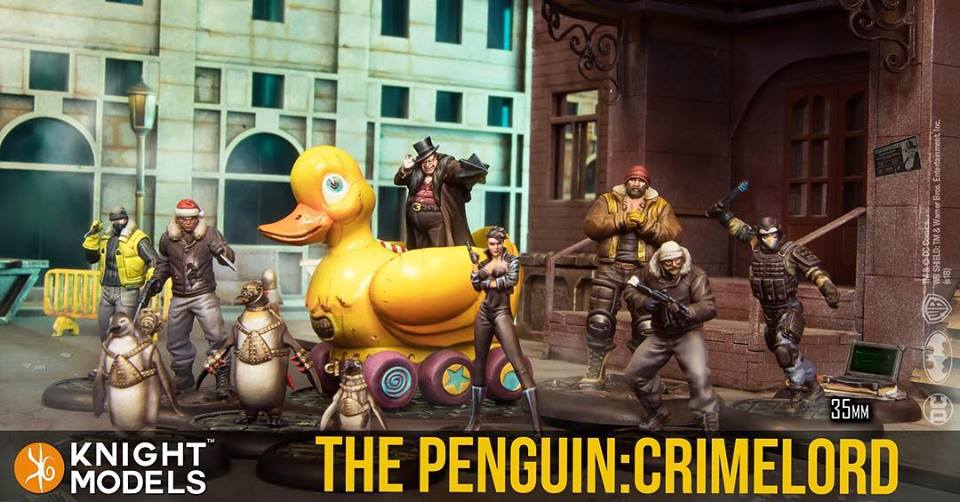 The Penguin Crimelord - Knight Models
