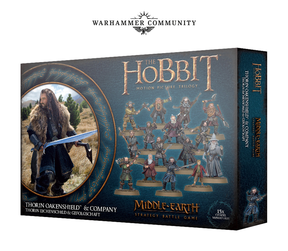 Thorin Oakenshield & Company - Middle-earth Strategy Battle Game