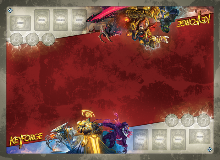 Two Player KeyForge Mat - FFG